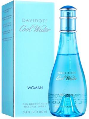 Davidoff Cool Water Woman desodorante con pulverizador para mujer 1