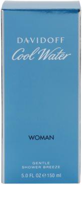 Davidoff Cool Water Woman gel de dus pentru femei 3