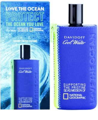 Davidoff Cool Water Love The Ocean National Geographic Eau de Toilette für Herren