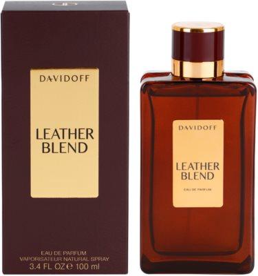 Davidoff Leather Blend eau de parfum férfiaknak