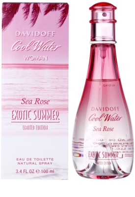 Davidoff Cool Water Woman Sea Rose Exotic Summer Limited Edition Eau de Toilette para mulheres