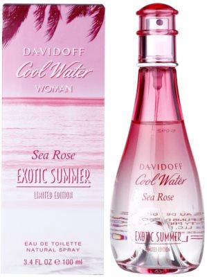 Davidoff Cool Water Woman Sea Rose Exotic Summer Limited Edition toaletní voda pro ženy