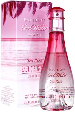 Davidoff Cool Water Woman Sea Rose Exotic Summer Limited Edition eau de toilette para mujer 2