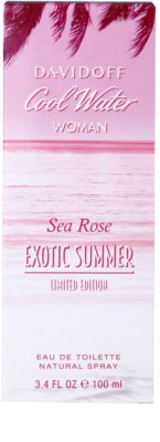 Davidoff Cool Water Woman Sea Rose Exotic Summer Limited Edition eau de toilette para mujer 1