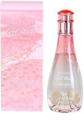 Davidoff Cool Water Woman Sea Rose Edition Limitée Eau de Toilette para mulheres