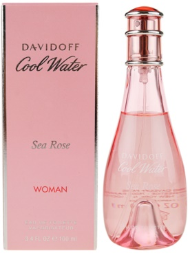 Davidoff Cool Water Woman Sea Rose Eau de Toilette para mulheres