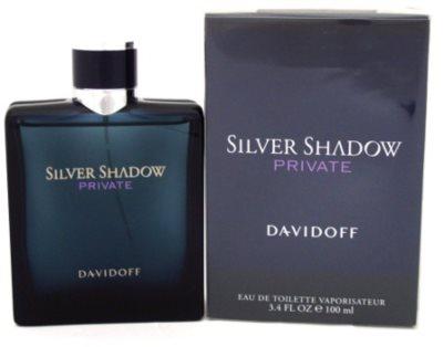 Davidoff Silver Shadow Private туалетна вода для чоловіків