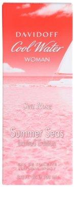 Davidoff Cool Water Woman Sea Rose Summer Seas Edition Limitée eau de toilette nőknek 4