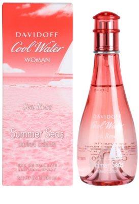 Davidoff Cool Water Woman Sea Rose Summer Seas Edition Limitée eau de toilette nőknek