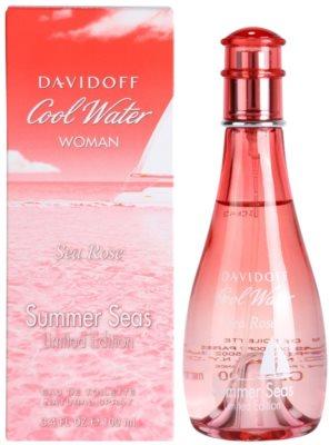 Davidoff Cool Water Woman Sea Rose Summer Seas Edition Limitée Eau de Toilette para mulheres