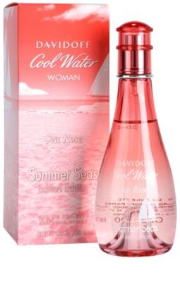 Davidoff Cool Water Woman Sea Rose Summer Seas Edition Limitée eau de toilette nőknek 1