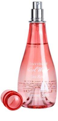 Davidoff Cool Water Woman Sea Rose Summer Seas Edition Limitée Eau de Toilette pentru femei 3