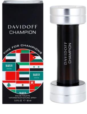 Davidoff Champion Time for Champions Limited Edition eau de toilette férfiaknak