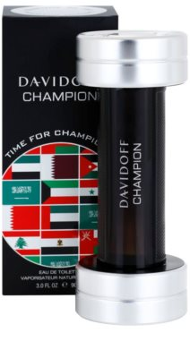 Davidoff Champion Time for Champions Limited Edition Eau de Toilette para homens 1