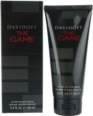 Davidoff The Game бальзам після гоління для чоловіків
