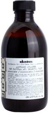 Davines Alchemic Chocolate sampon a hajszín élénkítéséért
