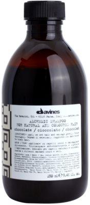 Davines Alchemic Chocolate шампоан  за подчертаване на цвета на косата