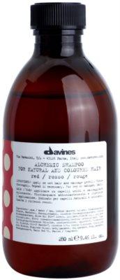 Davines Alchemic Red champú para resaltar el color del cabello