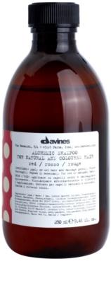 Davines Alchemic Red sampon a hajszín élénkítéséért