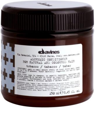 Davines Alchemic Tobacco хидратиращ балсам за подчертаване на цвета на косата