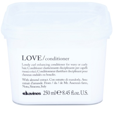 Davines Love Almond balzam za valovite lase