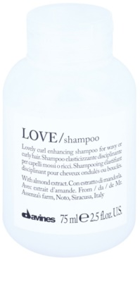 Davines Love Almond шампоан  за чуплива коса