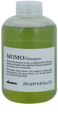Davines Momo Yellow Melon champú hidratante para cabello seco