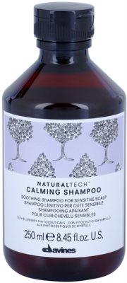 Davines Naturaltech Calming Superactive beruhigendes Shampoo für empfindliche Kopfhaut