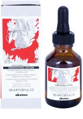 Davines Naturaltech Energizing sérum capilar sérum de cabelo para estimular crescimento de cabelo 1