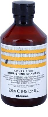 Davines Naturaltech Nourishing champú para cuero cabelludo deshidratado y cabello quebradizo y seco