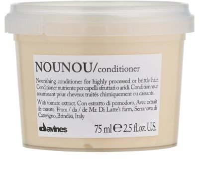 Davines NouNou Tomato odżywka do włosów rozjaśnianych