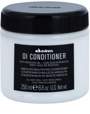 Davines OI Roucou Oil acondicionador para todo tipo de cabello