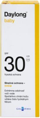 Daylong Baby Crema protectiva pentru piele sensibila cu minerale crema protectoare cu minerale pentru piele sensibilă SPF 30 2