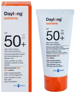 Daylong Extreme védő gél zsíros és érzékeny bőrre SPF 50+ 1