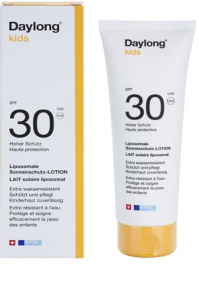 Daylong Kids lipozomální ochranné mléko SPF 30 1