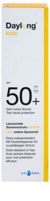 Daylong Kids loțiune de protecție lipozomală SPF 50+ 3