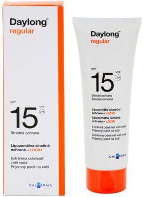Daylong Regular lipozomální ochranné mléko SPF 15 1