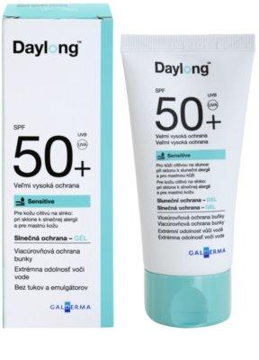 Daylong Sensitive ochranný gel pro mastnou citlivou pokožku SPF 50+ 1
