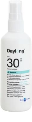 Daylong Sensitive védő gél-spray a zsíros és érzékeny bőrre SPF 30