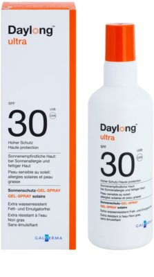 Daylong Ultra gel protetor em spray para pele sensível a oleosa SPF 30 2
