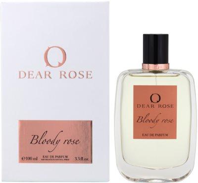 Dear Rose Bloody Rose Eau de Parfum für Damen