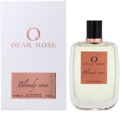 Dear Rose Bloody Rose Eau de Parfum para mulheres