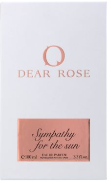 Dear Rose Sympathy for the Sun eau de parfum nőknek 4