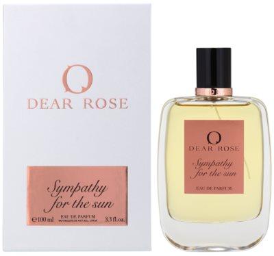 Dear Rose Sympathy for the Sun Eau de Parfum para mulheres