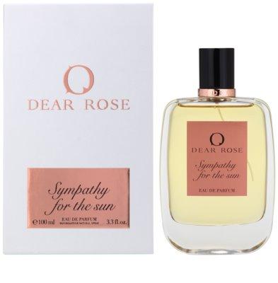 Dear Rose Sympathy for the Sun Eau De Parfum pentru femei