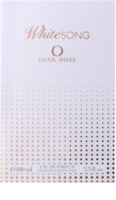 Dear Rose White Song parfumska voda za ženske 4