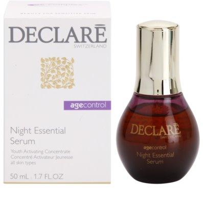 Declaré Age Control verjüngendes Serum für die Nacht 1