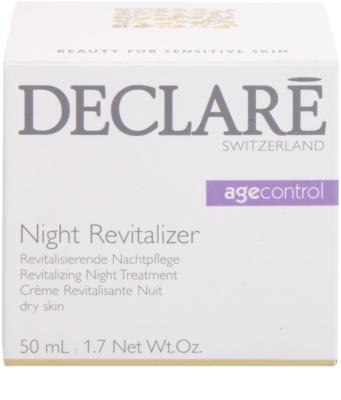 Declaré Age Control crema de noapte revitalizanta ten uscat 3