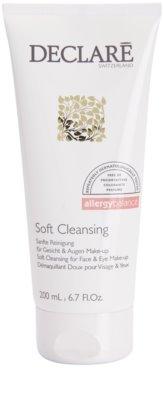 Declaré Allergy Balance gel de limpeza suave para rosto e olhos