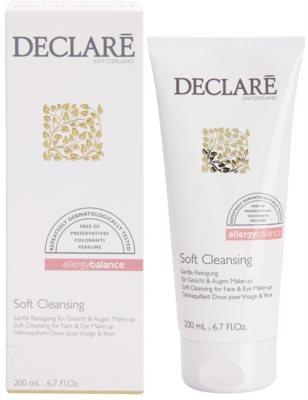 Declaré Allergy Balance gel de limpeza suave para rosto e olhos 1